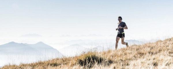 course à pied en montagne